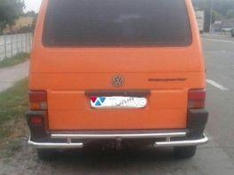 Защита задняя труба с углами VW T4 (1990-2003)