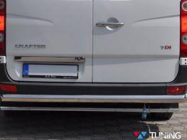 Защита задняя VW Crafter II (17-) - труба прямая