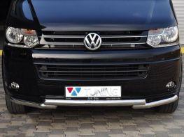 Защита переднего бампера VW T5+ (10-15) - GREYDER