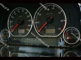 Кольца в щиток приборов VW Caddy II (96-03)
