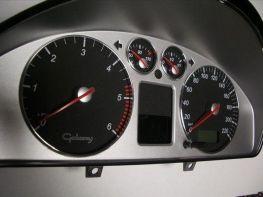 Кольца в щиток приборов VW Sharan I FL (2000-) рестайлинг