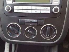 Кольца на переключатели кондиционера VW Tiguan I (07-10)