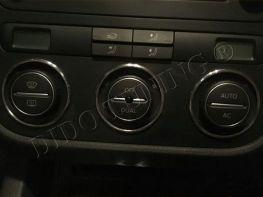 Кольца на ручки климат-контроля VW Tiguan I (07-10)