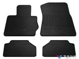 Коврики резиновые в салон BMW X3 F25 - Stingray чёрные