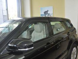 Ветровики Range Rover Evoque (11-) 5D - HIC (накладные)