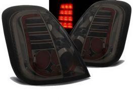 Фонари задние FIAT 500 (07-15) - диодные дымчатые