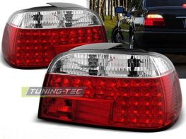 Фонари задние BMW E38 (94-01) Sedan RED-WHITE LED