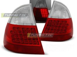 Стопы BMW E46 (99-05) Touring 2шт. RED WHITE LED