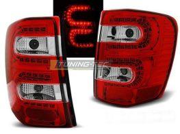Стопы JEEP Grand Cherokee WJ (99-04) КРАСНО-БЕЛЫЕ LED