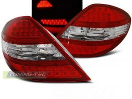 Фонари задние MERCEDES SLK R171 (04-10) RED-WHUTE LED