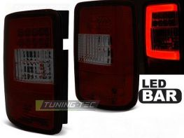 Фонари задние VW Caddy III (04-14) RED SMOKE LED BAR
