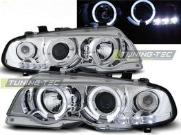Фары передние BMW E46 (99-03) Coupe ANGEL EYES CHROME