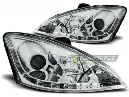 Фары FORD Focus I (98-01) DAYLIGHT CHROME