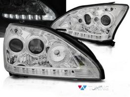 Фары LEXUS RX 330/350 (2003-2009) TUBE LIGHT CHROME