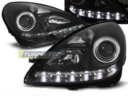 Фары MERCEDES SLK R171 (04-10) DAYLIGHT BLACK