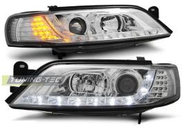 Фары OPEL Vectra B (95-98) DAYLIGHT ХРОМ LED-повороты