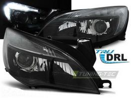 Фары передние OPEL Astra J (2009-) BLACK LED RL