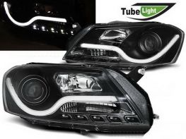 Фары VW Passat B7 (11-15) BLACK TUBE LIGHT