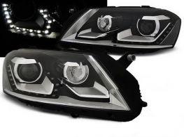 Фары VW Passat B7 (11-15) DAYLIGHT BLACK