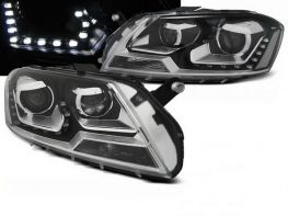 Фары VW Passat B7 DAYLIGHT BLACK EAGLE EYES