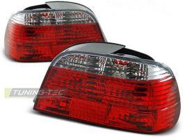Фонари задние BMW 7 E38 (94-01) Sedan - красно-белые