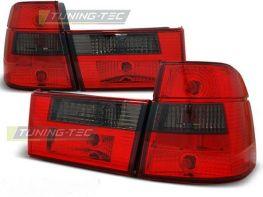 Фонари задние BMW E34 Touring красно-дымчатые