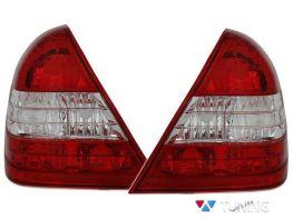 Фонари задние MERCEDES C W202 (93-00) - красно-белые