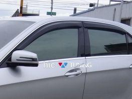 Дефлекторы окон MERCEDES E W212 (09-16) Sedan - HIC
