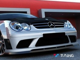 Сплиттер бампера BLACK MERCEDES CLK W209 (02-09)
