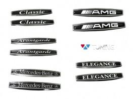 Эмблемы на крылья MERCEDES A W169 (04-12) - чёрные