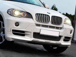 Накладка бампера передняя BMW X5 E70 (2006-2010)