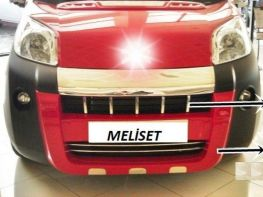Накладка на передний бампер (центральная) FIAT Fiorino (2008-)