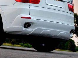 Накладка бампера задняя BMW X5 E70 (2006-2010)