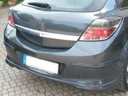 """Юбка задняя OPEL Astra H GTC (05-11) 3D """"OPC"""""""