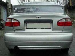 Накладка заднего бампера DAEWOO Lanos Hatchback