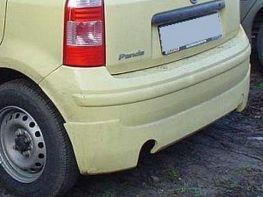 Накладка заднего бампера (юбка) FIAT Panda II (2003-)