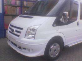 Накладка бампера+решётки передняя FORD Transit (2006-)