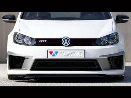 Сплиттер передний VW Golf VI R400