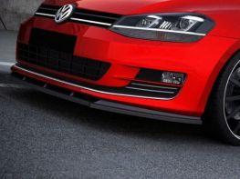 Сплиттер передний VW Golf 7 VII (2013-) версия 2