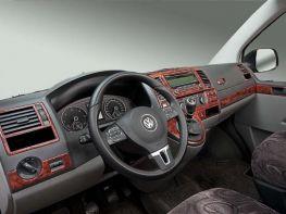 Накладки на торпедо VW Transporter T6 (2015-)
