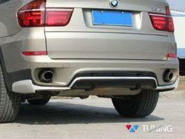 Накладка задняя BMW X5 E70 LCI (2010-2013) - Aerodynamik