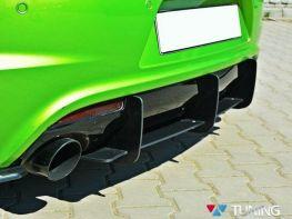 Диффузор задний + сплиттера VW Scirocco R (08-14)