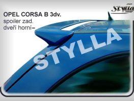 """Спойлер OPEL Corsa B 3D """"STYLLA"""""""