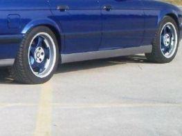 """Накладки на пороги BMW 5 E34 (1988-1995) """"M"""""""