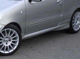 Накладки на пороги FIAT Seicento (98-10)
