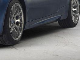 """Накладки на пороги BMW 3 E92 / E93 (2006-2010) """"M-пакет"""""""