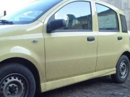 Накладки на пороги FIAT Panda II (03-12) - Cetus