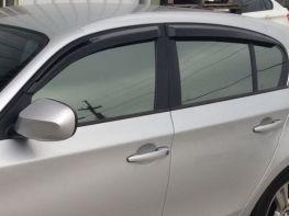 Ветровики BMW 1 E87 (04-11) - Hic (накладные)