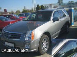Ветровики Cadillac SRX I (04-10) - Heko (вставные)