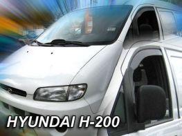 Ветровики HYUNDAI Starex H1 (97-08) - Heko (вставные)